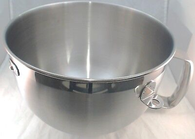 W10245586 - KitchenAid 6 Quart Stand Mixer Stainless Steel Bowl