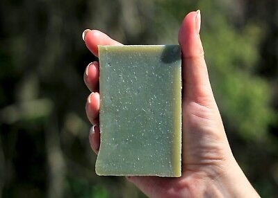 Detox Soap, French Green Clay Soap, Green Clay, 100% Natural, Handmade. (French Clay Soaps)