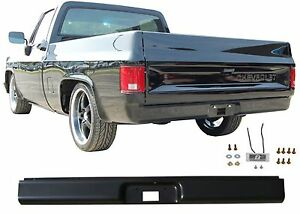 Rear Bumper Steel Roll Pan For 1973-1987 Chevrolet C-10 C10 New Free Shipping