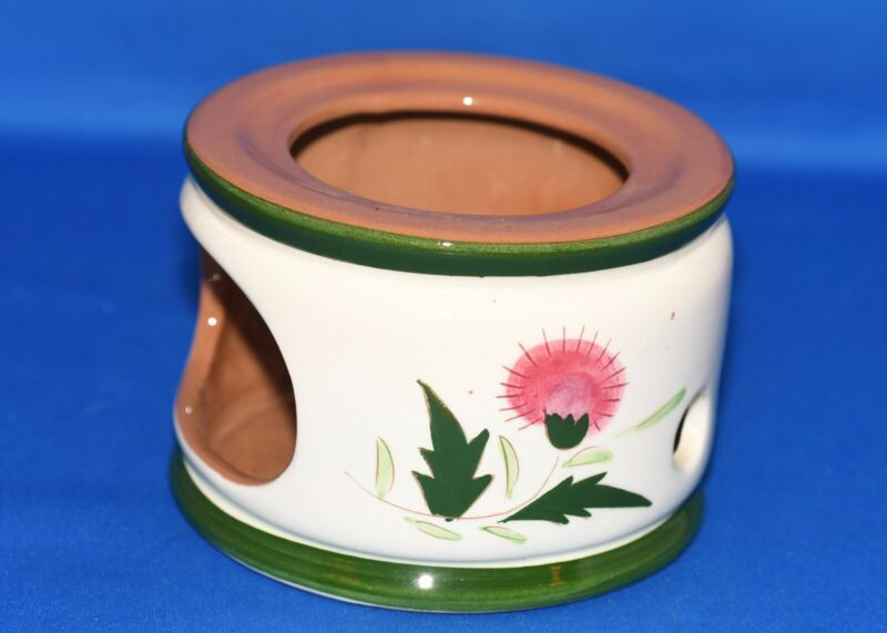 Stangl Thistle Coffee Pot Charger, Nice Condition