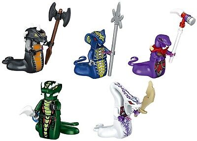 Ninjago Skalidor Skales Choprai Acidicus Pythor Custom fits Lego Mini Figure Toy