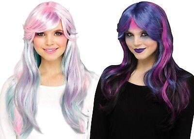 Adult Fantasy Unicorn Costume Wig Pastel or - Unicorn Costume Wig