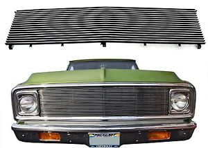 Polished Billet Grill For 1969-1972 Chevrolet C10 Pickup New Free Shipping USA