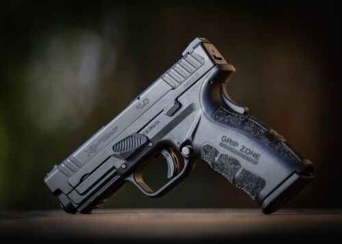SPRINGFIELD XD MOD 2 AND XDM GAS PEDAL® TAKE DOWN LEVER THUMB GRIP