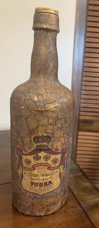 Vintage Smirnoff Vodka Bottle