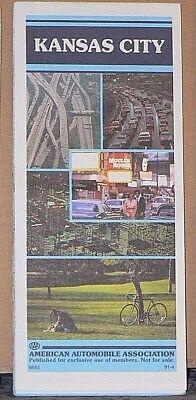 1991 AAA Street Map of Kansas City