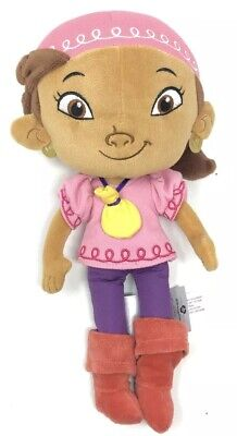 Authentic Disney Store Izzy Plush Figure Jake and the Never Land Pirates 11'' - Disney Izzy