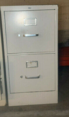 Hon 2-drawer Letter Size Metal Filing Cabinets--used Local Pickup Only