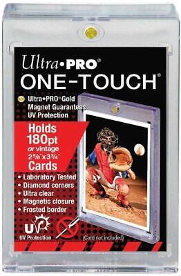 Ultra Pro 180pt Card Holder One Touch UV Card Holder with Magnet Closure Card Holder Magnet