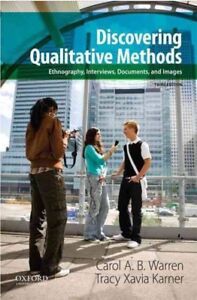 Discovering Qualitative Methods Third Edition