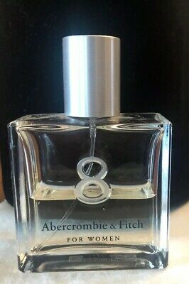 Abercrombie & Fitch 8 1.7oz Women's Perfume 1/2 Full