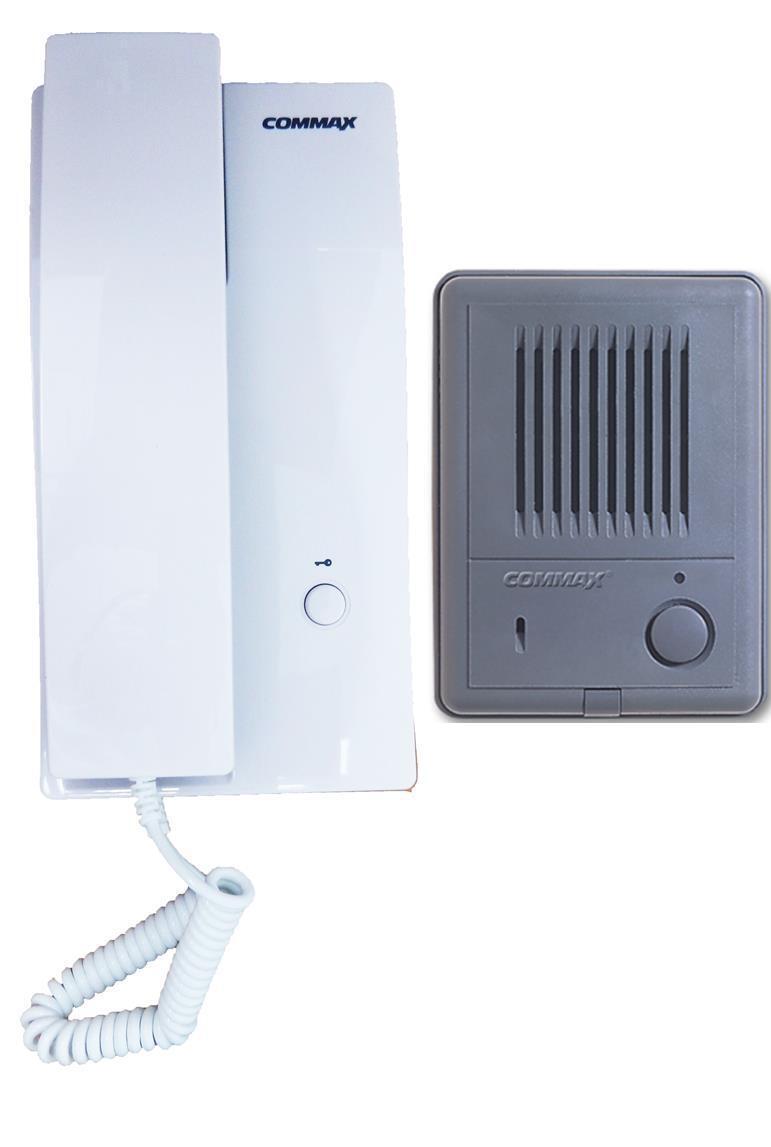 Commax 1 To 1 Intercom 1 Audio Door Unit 1 Audio Door