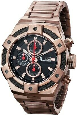 CALABRIA - ARMATO Forte - Rose Gold - Men's Watch with Carbon Fiber Bezel