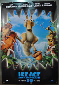 Ice-Age-Dawn-Of-Dinosaurs-3D-Original-Advance-One-Sheet-Movie-Poster-2008-27-x40