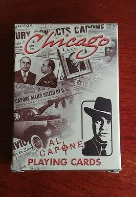 Chicago Al Capone Standard Deck Playing Cards