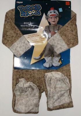 Disguise Calzino Scimmia Neonato Costume 12-18 Mesi Scatto Fondo Easy Pannolino