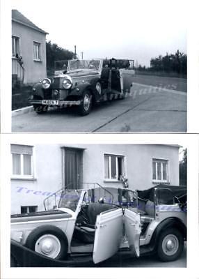 1930s German 1932-1933 Horch 500/780 Pullman Cabriolet Automobile Photos