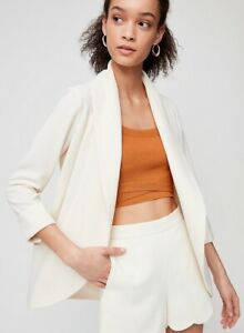 398069906db New Aritzia Ivory Blazer Jacket  80