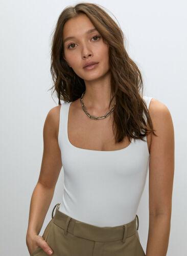 New Aritzia Babaton Contour Bodysuit Square neck, thong bodysuit