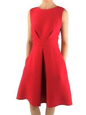 New  Julia Jordan Red Skater Dress UK12  £99