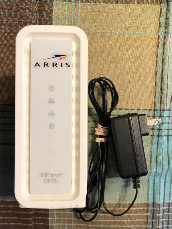 Arris Motorola SB6183 Docsis 3.0 Cable Modem *Tested & Free-Ship*