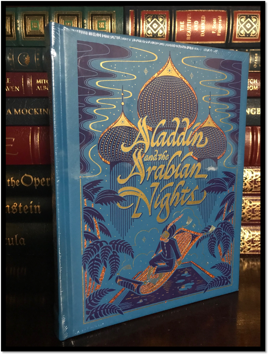 Aladdin and the Arabian Nights New Sealed Leather Bound Illustrated Gift Edition