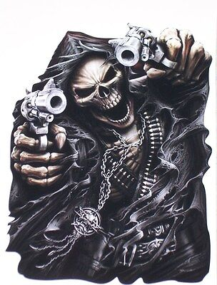 Grim Reaper assasin skull Wall Window Decal decals Sticker Car Truck Motorcycle