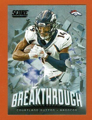 2019-20 Score Breakthrough B-CS Courtland Sutton