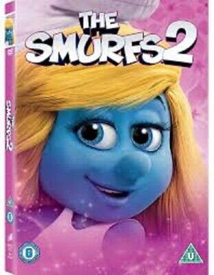 Factory Sealed NEW The Smurfs 2 DVD Film Movie UK in cellophane