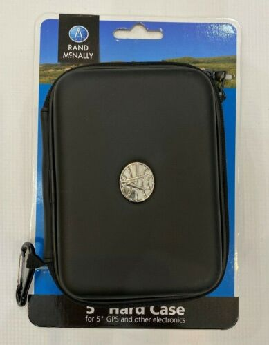 """Rand McNally 5""""  or 7"""" Hard Case Cover For GPS Or Electronics New"""