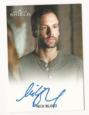 Marvel Agents of Shield Season 1  Autograph Card Louis Changchien as Torch