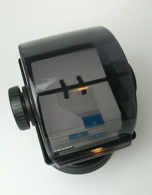 Vintage Rolodex Nsw-24c Plastic Large Round File Index Cards 360 Swivel Stand