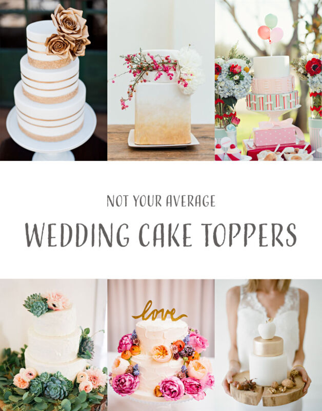 Cake Toppers That WOW