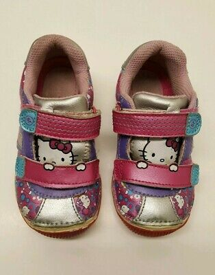 Stride Rite Hello Kitty  Todderl Girl Shoes Size 7.5M
