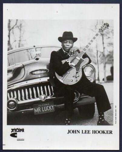 JOHN LEE HOOKER blues singer songwriter guitarist ORIG PUBLICITY PHOTO 8x10