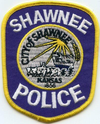 SHAWNEE KANSAS KS POLICE PATCH