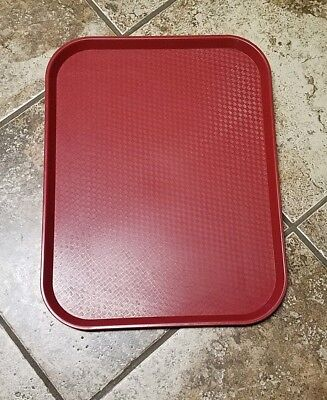 42 Used Cambro Tray Cafeteria Fast Food Restaurant Nsf 14x18 Free Shipping