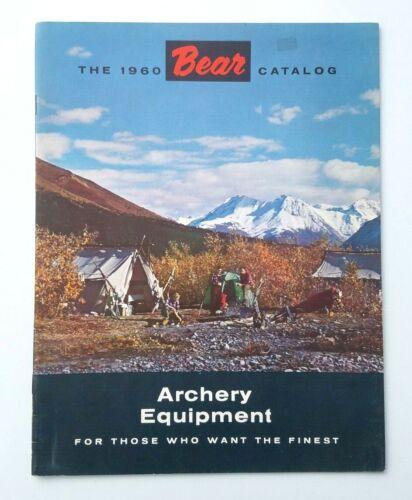 Original Vintage 1960 Bear archery catalog