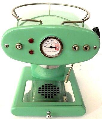 2001 Francis Francis  mint green X1 - O6047 Luca Trazzi Italia Espresso Machine