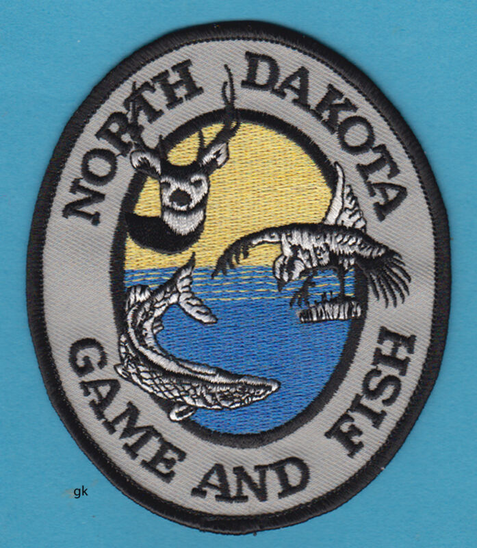 NORTH DAKOTA FISH AND GAME PATCH