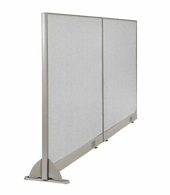 Gof Wall Mounted Office Partition Large Fabric Room Divider Panel 84w X 48h