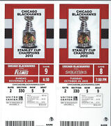 Chicago Blackhawks Ticket Stub