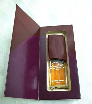 J'ai Ose Guy Laroche vintage perfume Eau de Toilette Spray 20g .72 oz from 80s