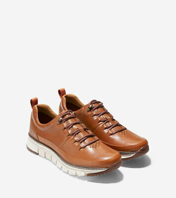 Cole Haan Zerogrand Rugged Oxford Men's British Tan / Ivory Sneakers 7**Open Box