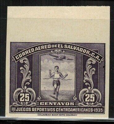 El Salvador #C37 Imperf 1935 MNH