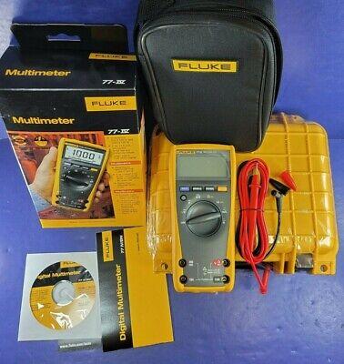 New Fluke 77iv Multimeter October 2020 Original Box More