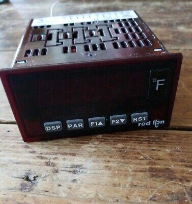 Red Lion Controls Temperature Meter Model Paxt0000 Mb2218g 85-250vac 5060hz