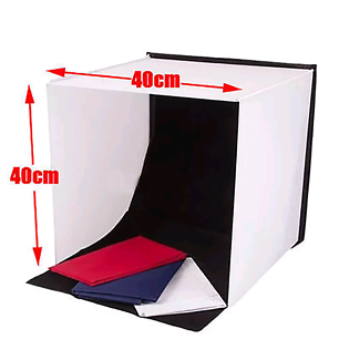 Portable photography light tent