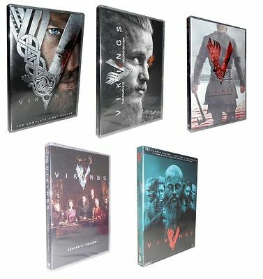Vikings   The Complete Seasons 1 4  Dvd  2017  15 Disc Set  1 2 3 4
