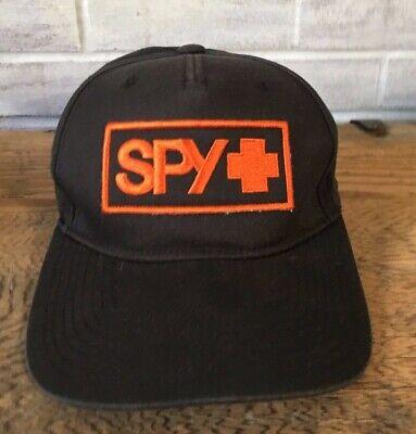 ker Hat Cap Snap Back Flat Fitty Skateboard Snowboard Surf  (Spy Hats)